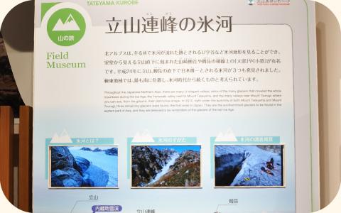北アルプスにしかない現存する氷河の紹介