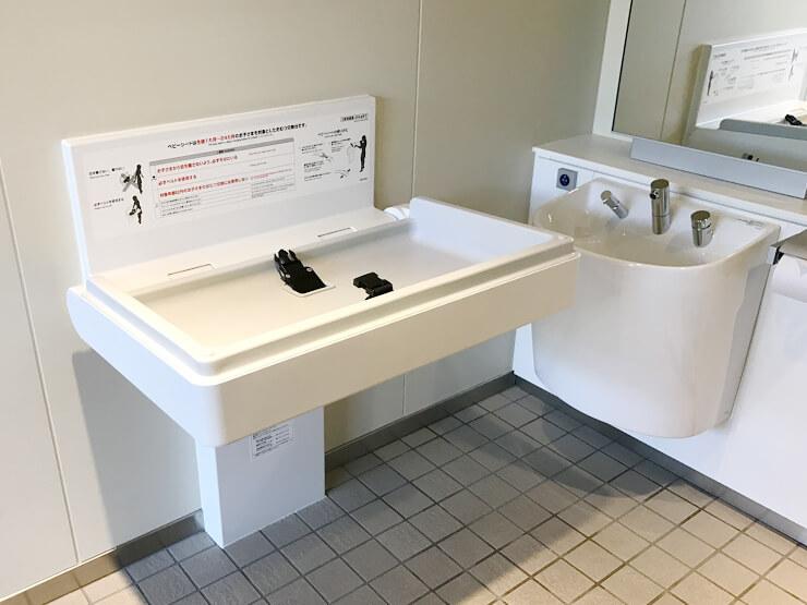 黒部宇奈月温泉駅 多機能トイレ ふれあいプラザ側
