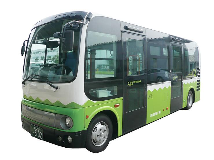 富山地方鉄道路線バス  新幹線市街地線