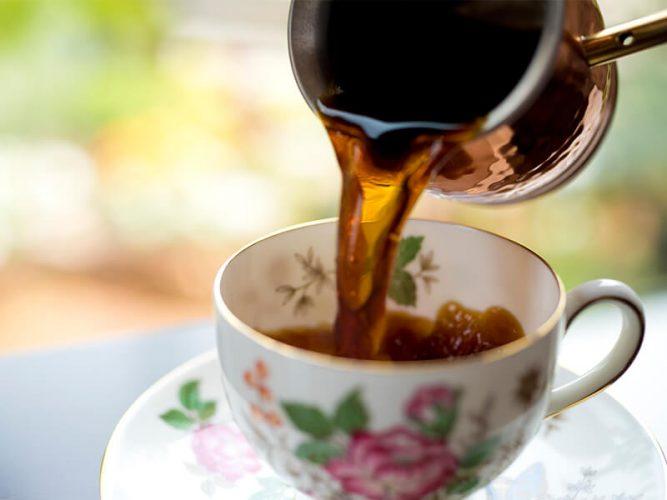 水の時計の水出しコーヒー