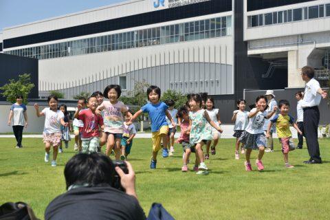 北陸新幹線利用PRポスター写真撮影