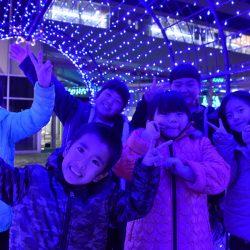 黒部宇奈月温泉駅開業1000日メモリアルイルミネーション 「煌めき2018」