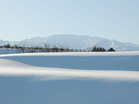 冬のにいかわと立山