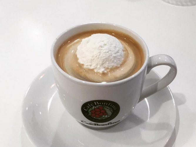 パッシブバザール カフェ・ボンフィーノ コーヒー