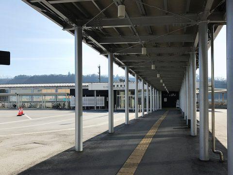 新黒部駅への道のり