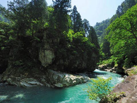 黒部峡谷 猿飛峡
