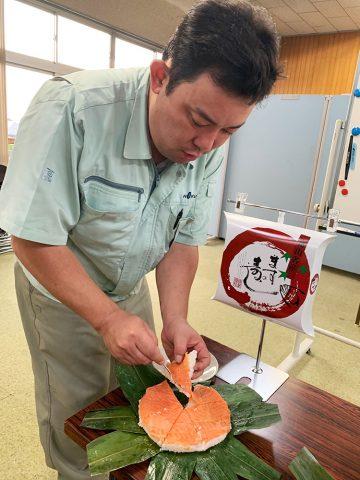 ます寿司試食