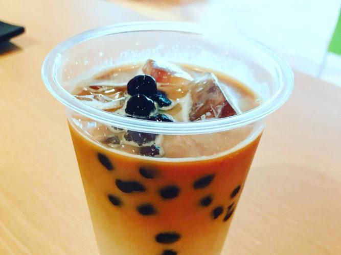 cafe ganju タピオカドリンク
